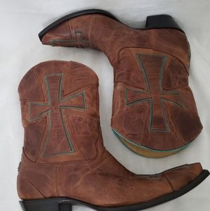 Yippee Ki Yay by Old Gringo Cross Cowboy Boots
